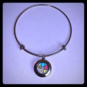 Jewelry - Stainless Steel Adjustable Mini Locket Bracelet